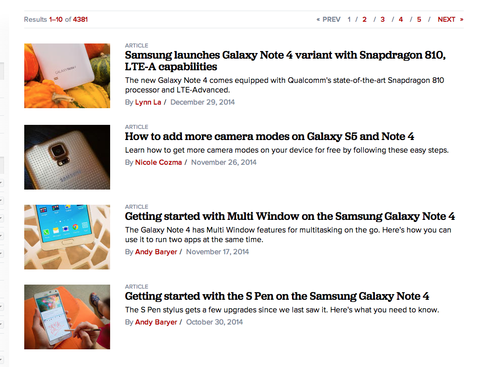 CNET is a great resource