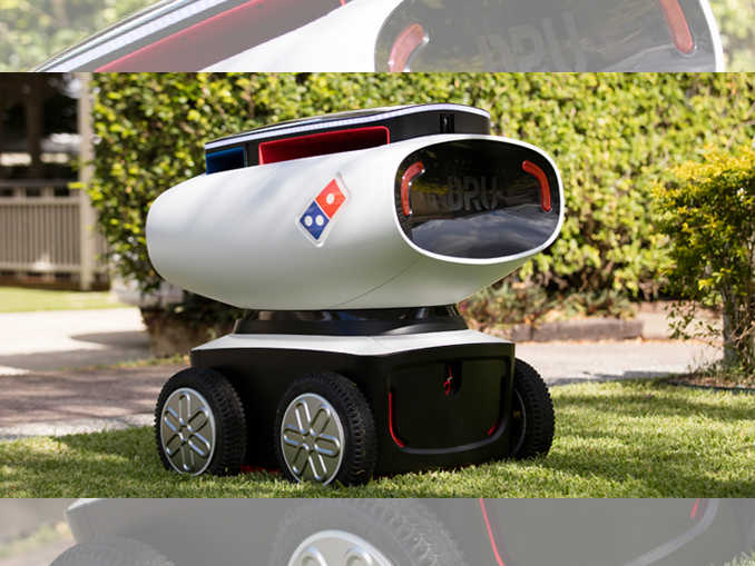 Domino's-reveals-self-driving-pizza-delivery-robot